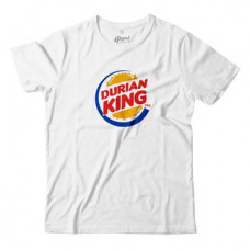 APOM Adult - T-Shirt - Durian King - White