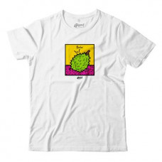 APOM Adult - T-Shirt - Pop Culture Durian - White
