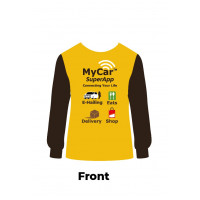 MyCar Rider Yellow Long Sleeve